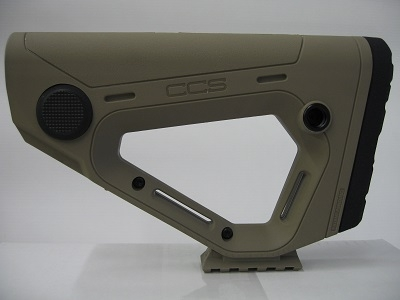 CCS Collapsible Buttstock Mil-Spec.  TAN