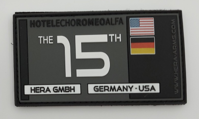 "Hera Arms - Patch ""THE 15 TH """