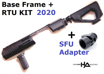 Triarii Frame Base + RTU KIT 2020 + SFU Klappschaftadapter